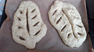 Fougasse – Brot in Blattform