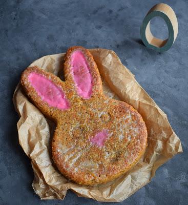 Karotten-Nuss Kuchen