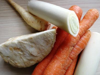 Basis-Soße aus Gemüse