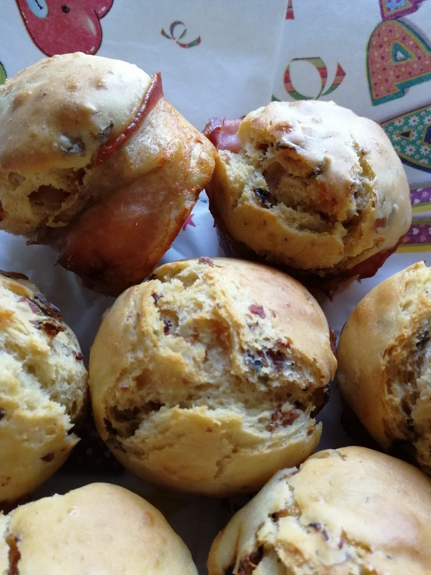 Zwiebel Speck Muffins