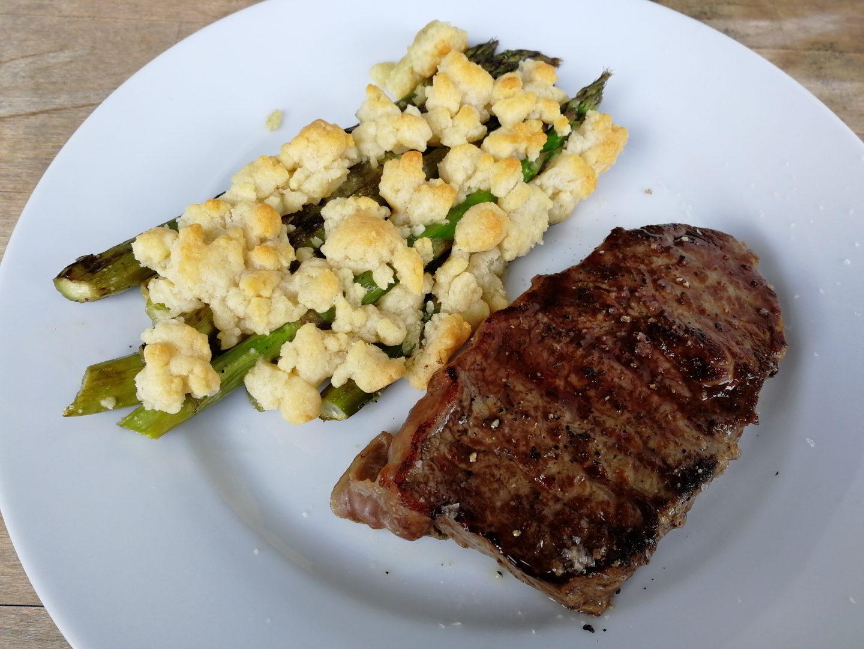 Spargel Steak