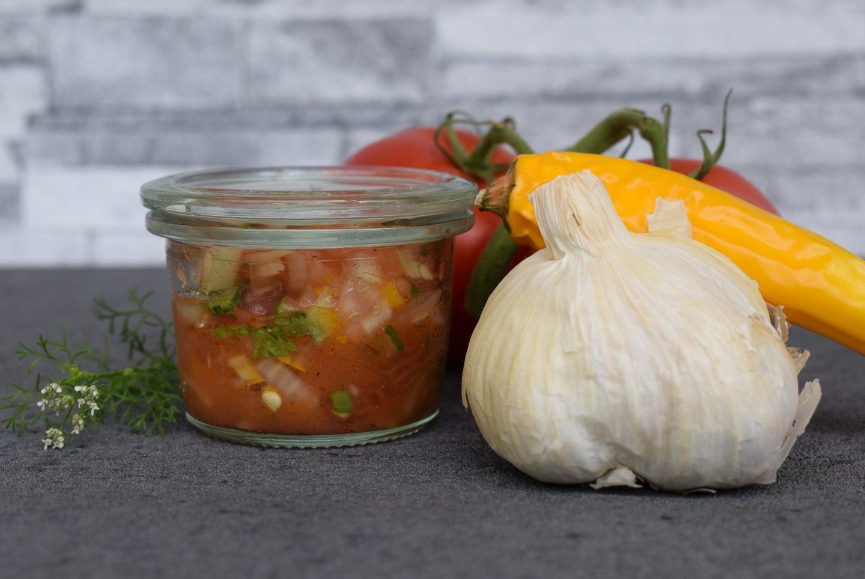 Mexikanische Tomaten Salsa