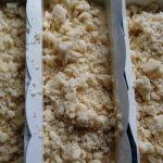 Streusel auf Rührkuchen
