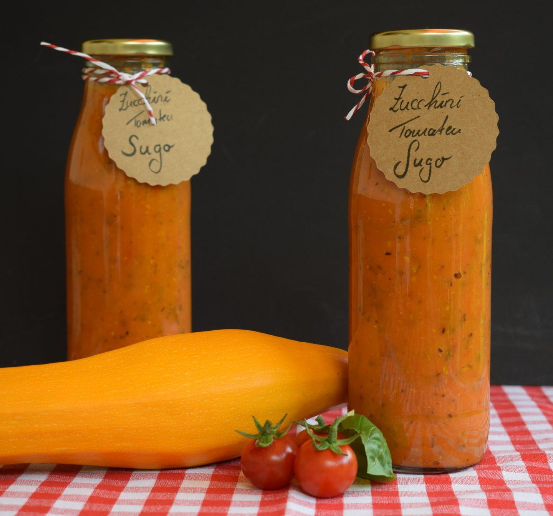 Zucchini Tomaten Sugo