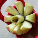 Apfel zerteilen