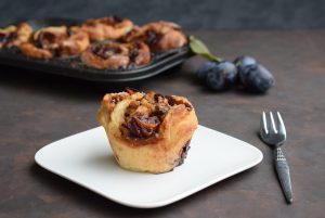 Zwetschgen Rosenkuchen Muffin