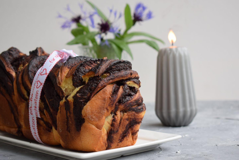 Babka – Schokoladenhefekuchen mit Walnüssen