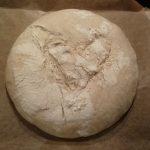 Brot vor dem backen