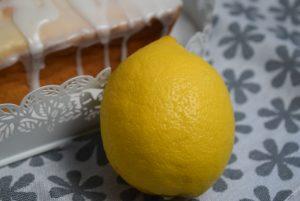 Zitronen Joghurt Kuchen nah