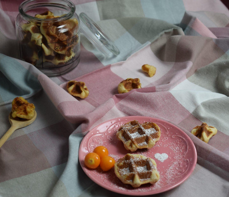 Waffle Bites oben