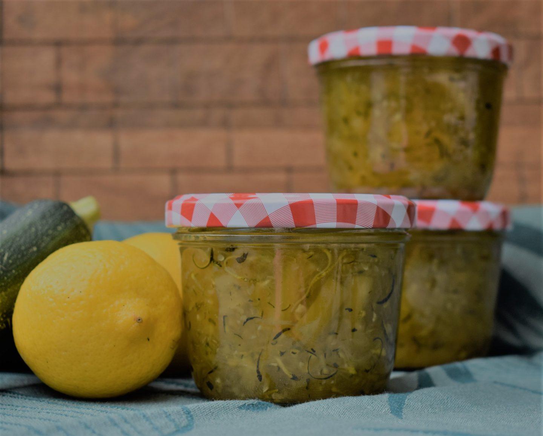 Zucchini-Ananas Marmelade
