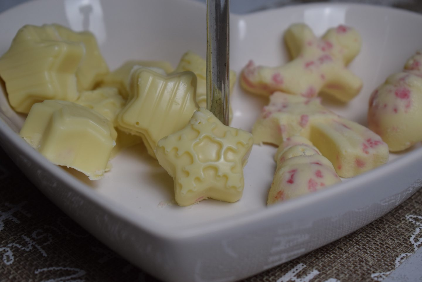 White Peppermint Pralinen