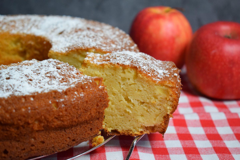 Apfelmus-Joghurt Kuchen