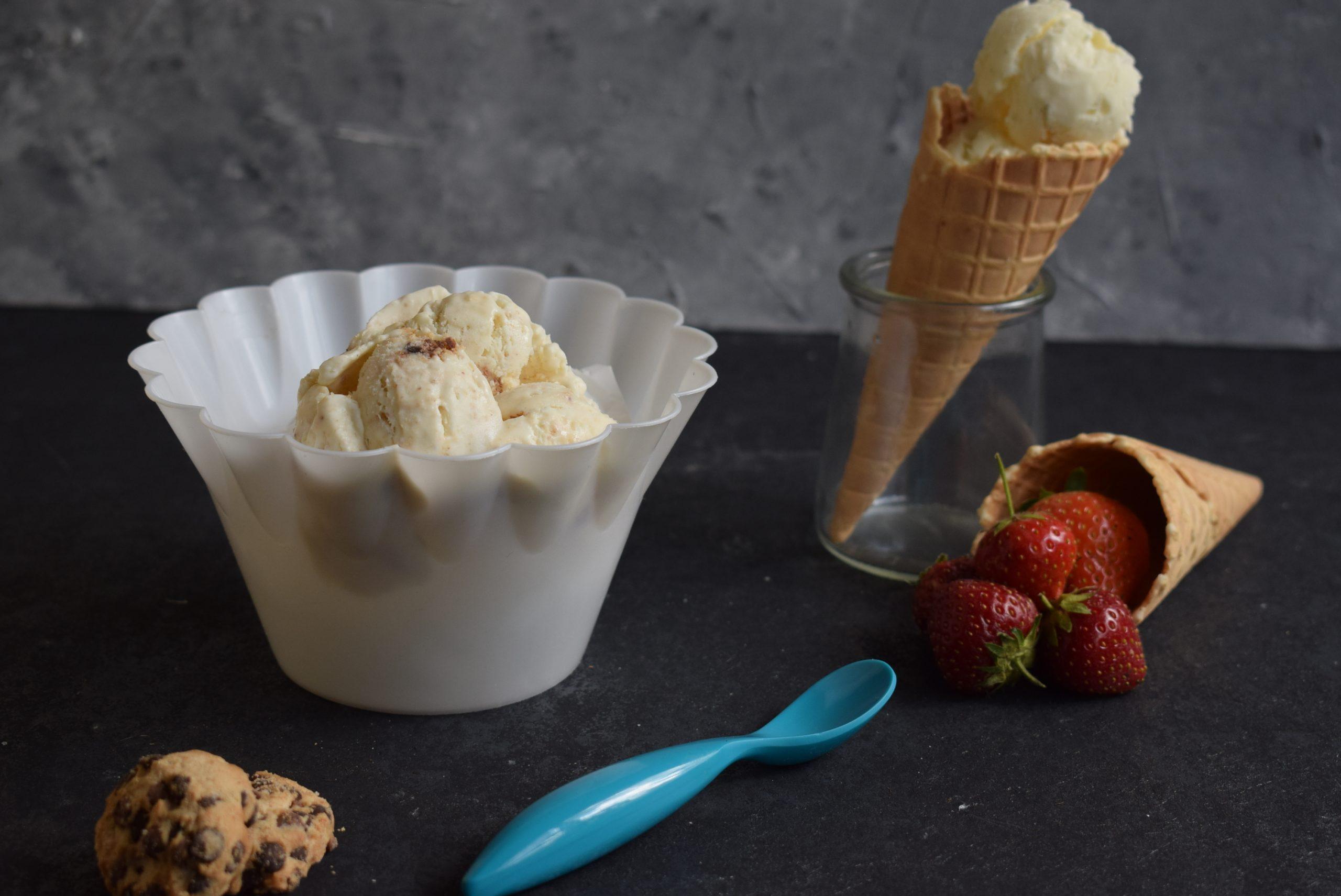 Zwei Zutaten Eis - ohne Eismaschine zum perfekten Ergebnis - Soni - Cooking with love