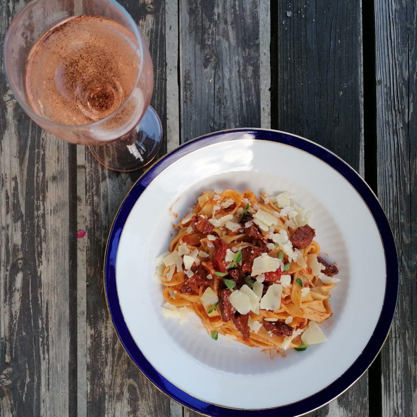 Pasta Chorizo – sommerlicher Nudelgenuss