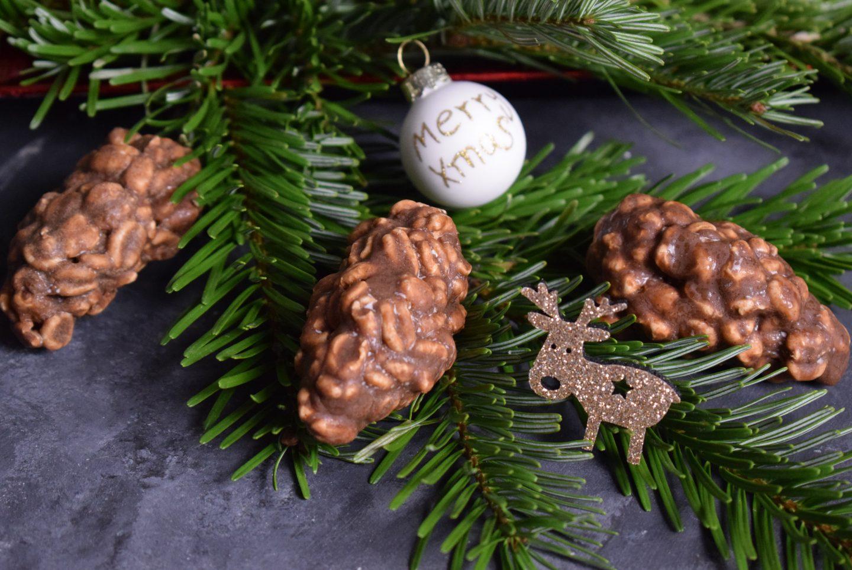 Tannenzapfen – kleine Süßigkeit für die Weihnachtszeit