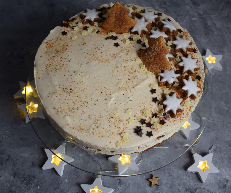 Zimtstern Kaffee Torte – nicht nur an Weihnachten lecker